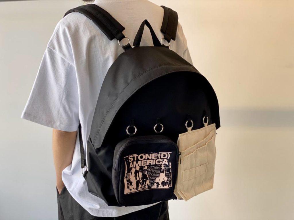 RAF SIMONS(ラフ シモンズ) × EASTPAK(イーストパック)デザイン、機能性◎のバッグ