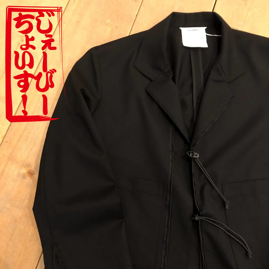 【J.B.Choice】DIGAWEL / OPEN COLLAR TAPE BLOUSON