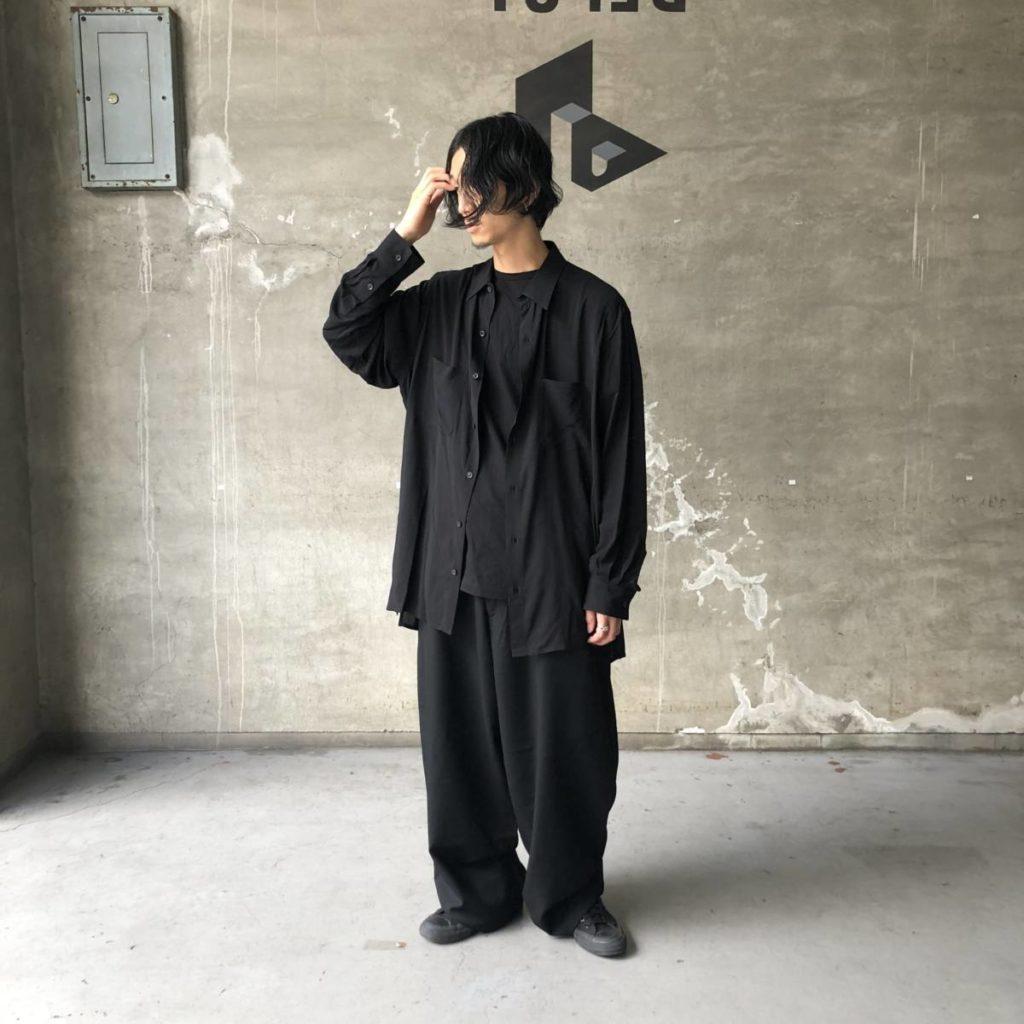 アバンギャルドなブラックアイテム YOHJI YAMAMOTO(ヨウジ ヤマモト)