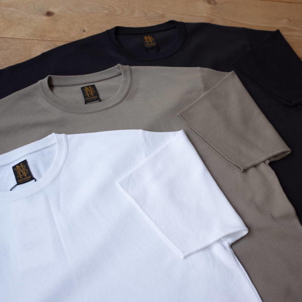 ニット素材の代表格 BATONER(バトナー)が作る極上のTシャツ