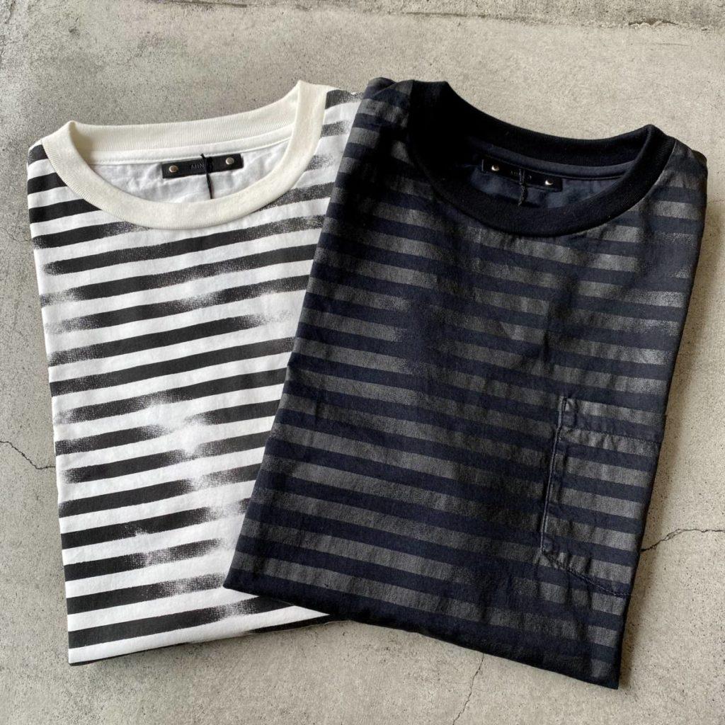 経年変化を楽しむTシャツ MINEDENIM(マインデニム)