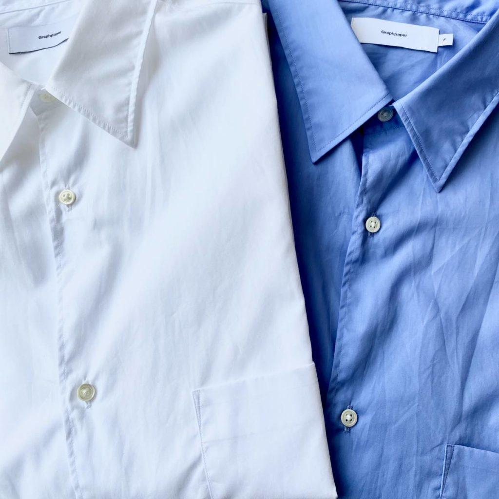 快適に過ごすためのシャツ。Graphpaper(グラフペーパー)