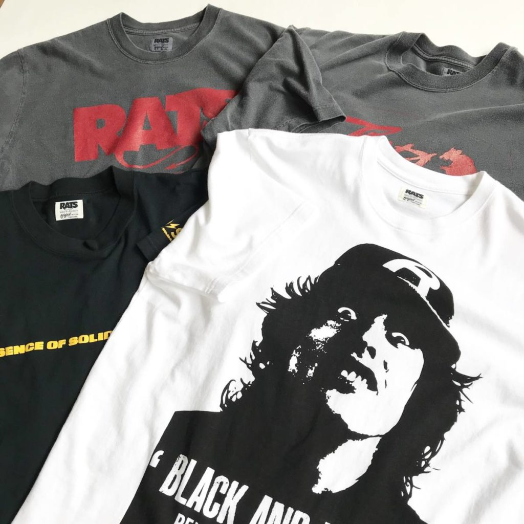 夏に活躍するRATS(ラッツ)の新作Tシャツ