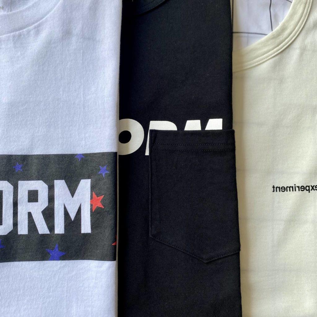 デザインTシャツ3選。uniform experiment(ユニフォーム エクスペリメント)