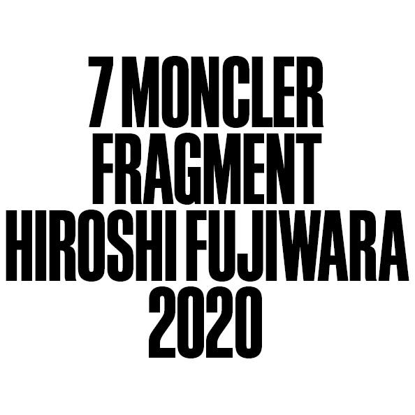 7 Moncler Fragment Hiroshi Fujiwara(7 モンクレール フラグメント ヒロシ・フジワラ)