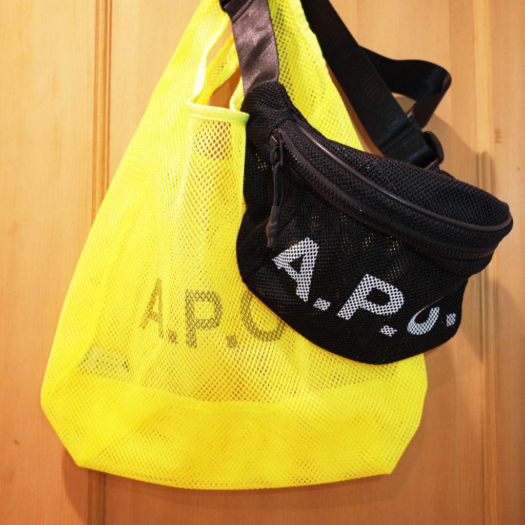 季節を感じる A.P.C.(アー・ペー・セー)のバッグ