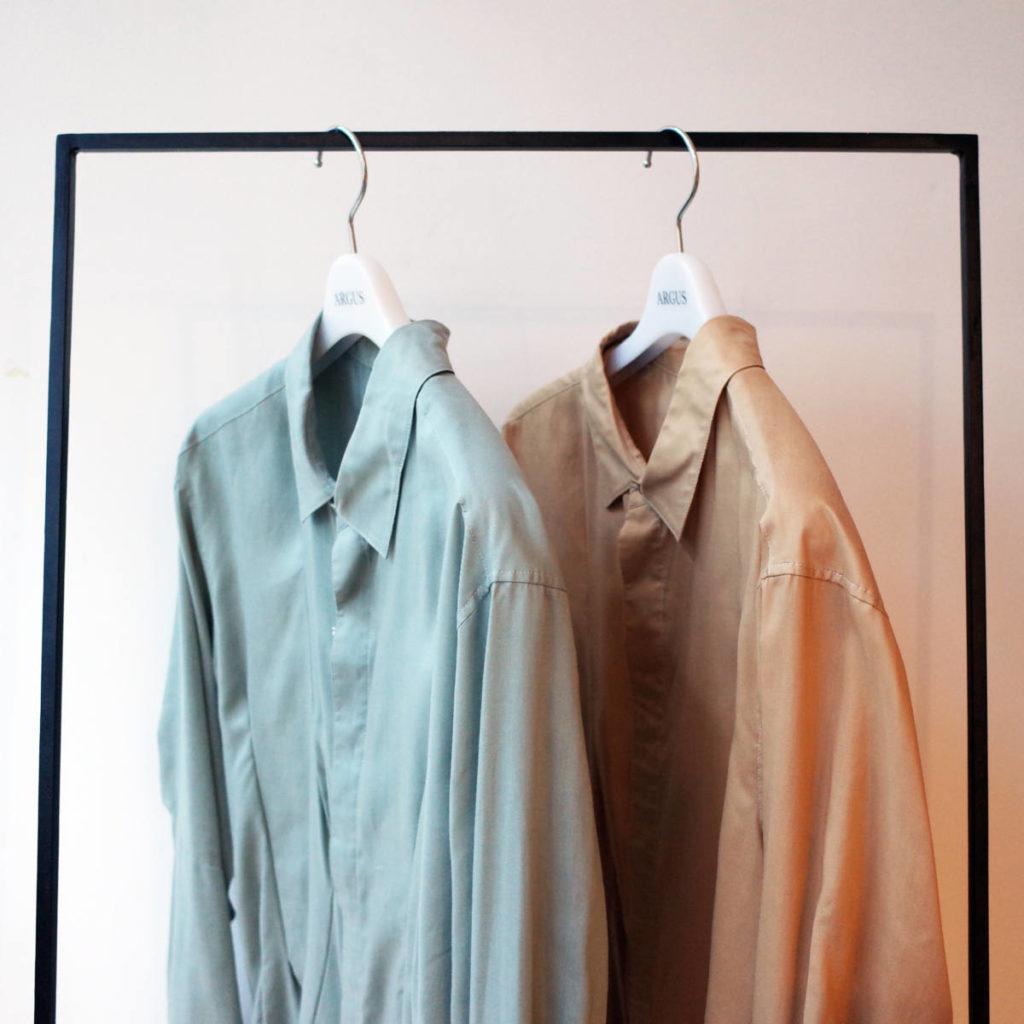 斬新なダーツ使いが魅力のsulvam(サルバム)の新作シャツ