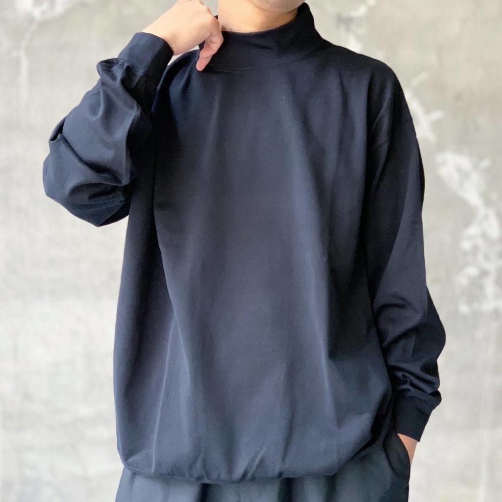 8月29日(土)発売、Graphpaper モックネックTシャツ。
