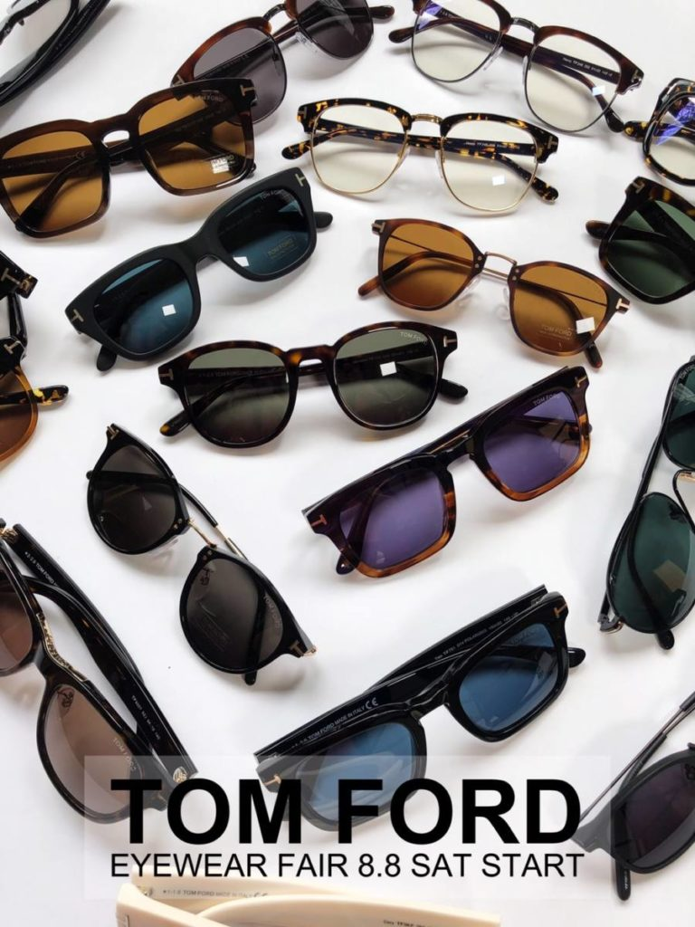 TOM FORD POP UP STORE at JACK IN THE BOX & REGGAWS
