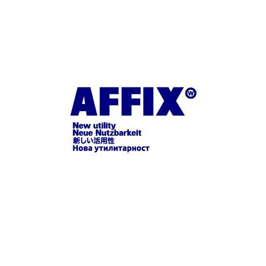 新規取り扱いブランド AFFIX