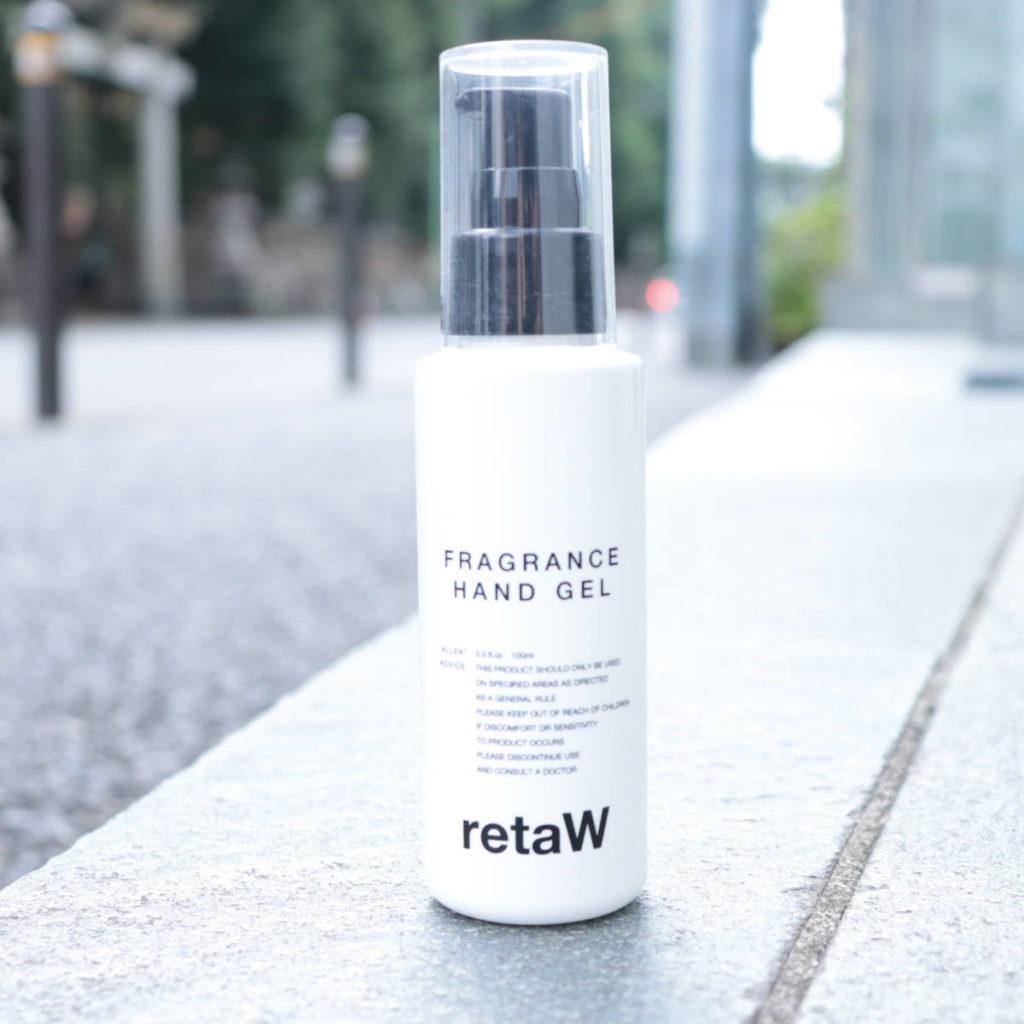 retaW Fragrance Hand Gel