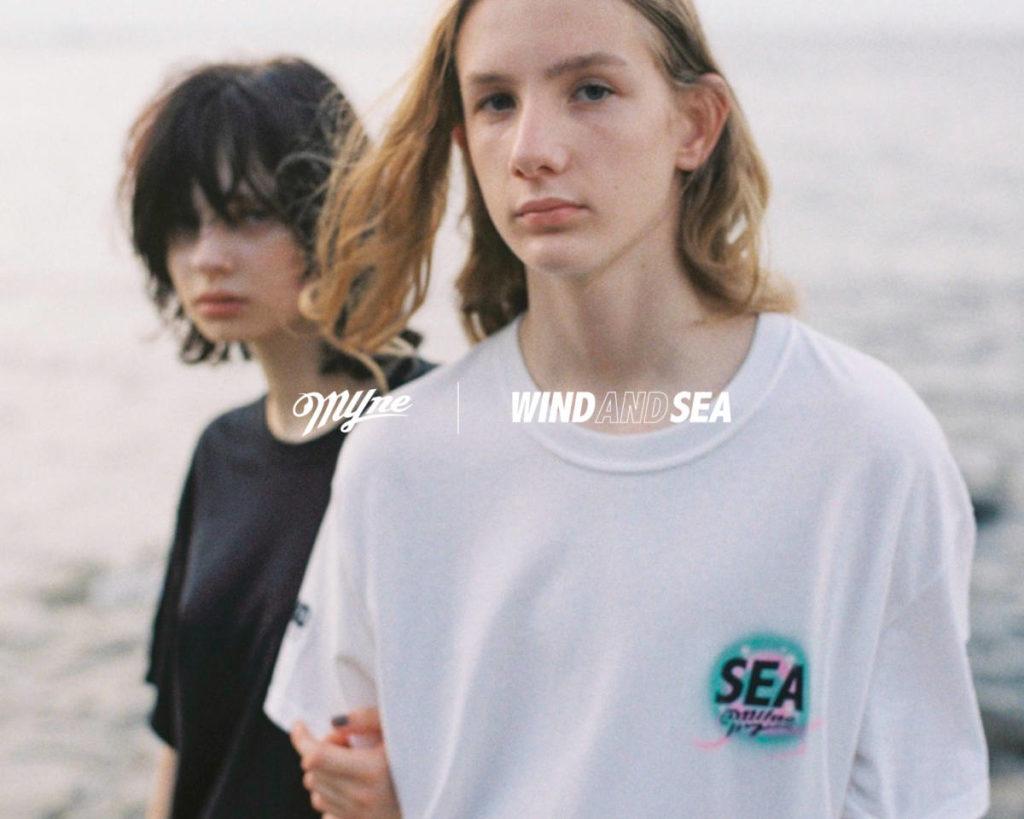 WIND AND SEA×MYne 初のカプセルコレクションを発売。