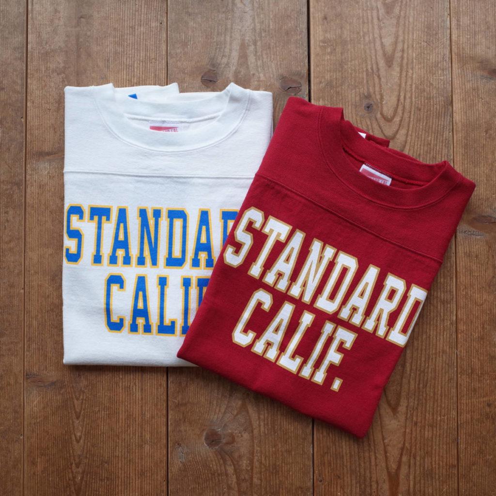STANDARD CALIFORNIA(スタンダードカリフォルニア)の代名詞ともいえるフットボールTシャツ