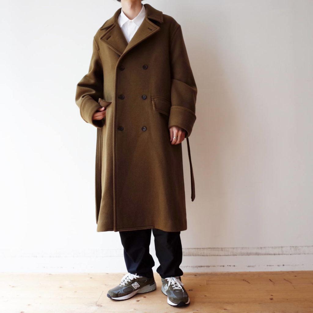 長く着られる相棒コート。blurhms