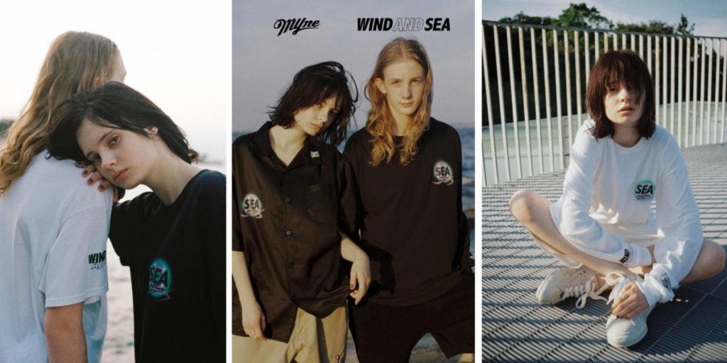 WIND AND SEA×MYne カプセルコレクション 8/29(土)発売!