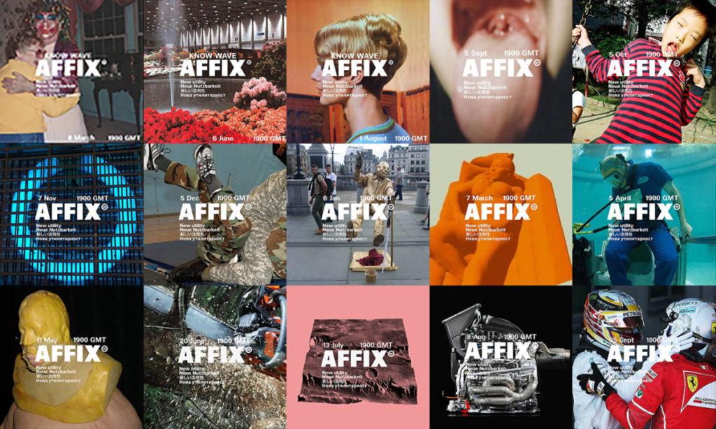魅力的なスタンダードアイテム AFFIX