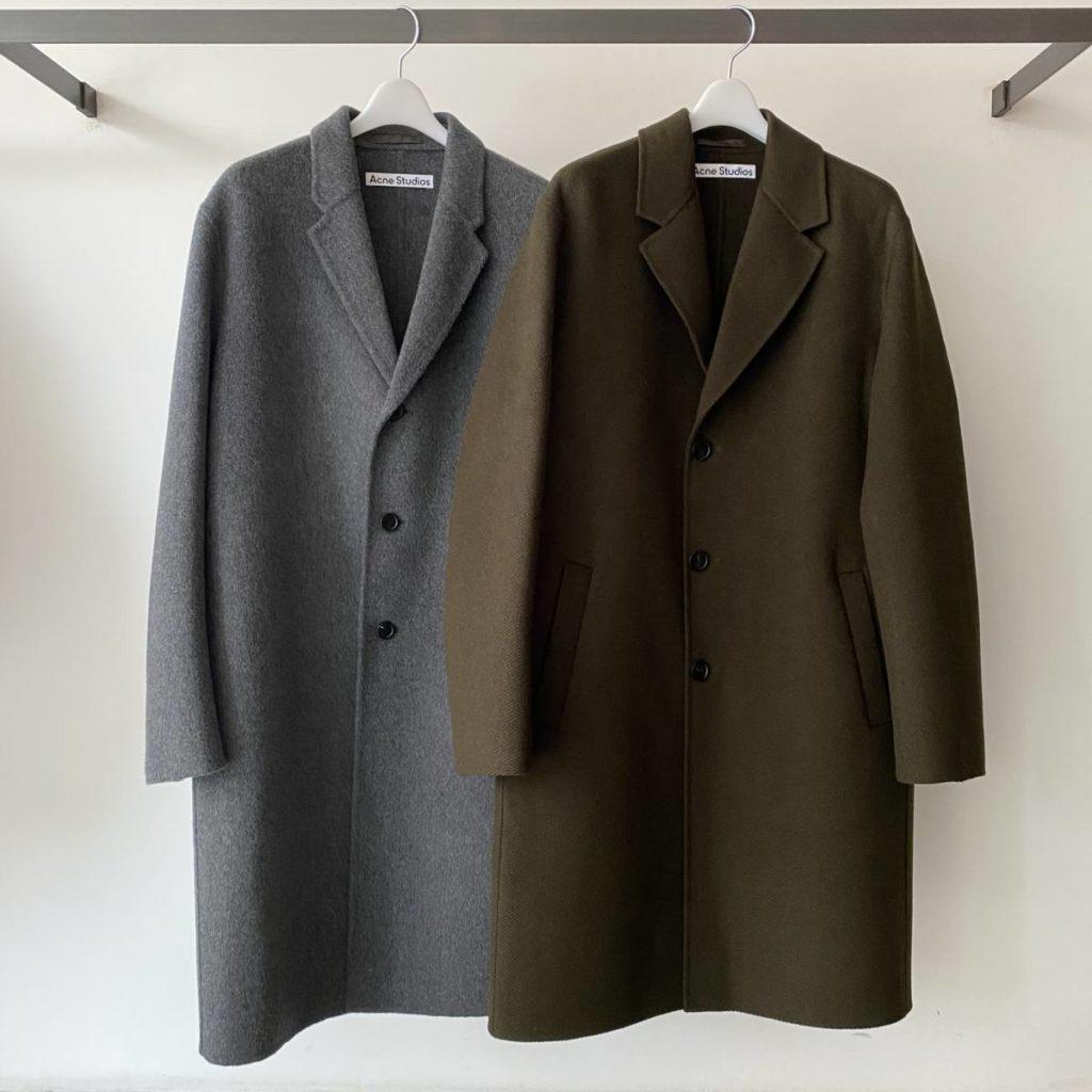 一着持っておくと間違いないコート。Acne Studios