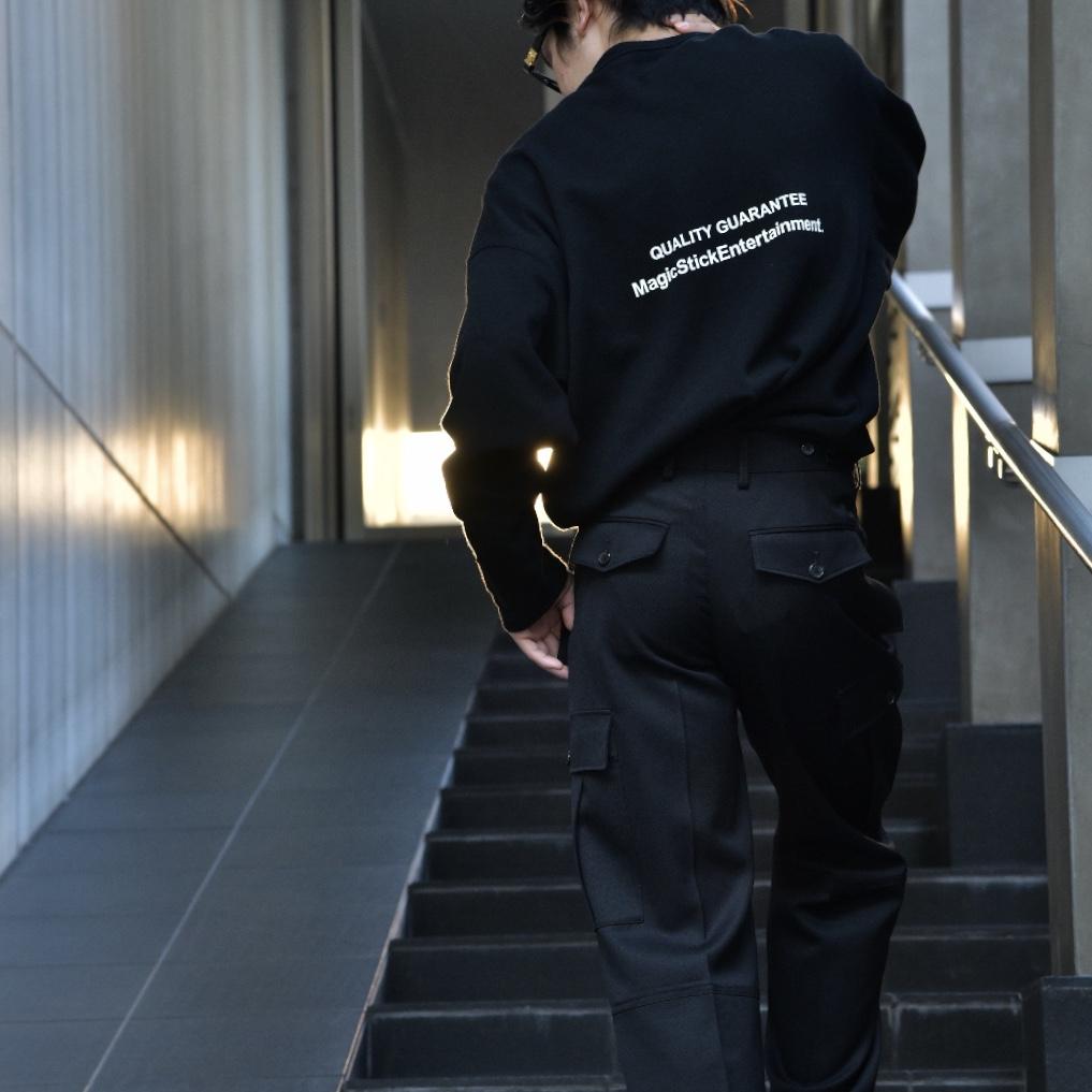 着心地が癖になるMAGIC STICKのロングスリーブTシャツ