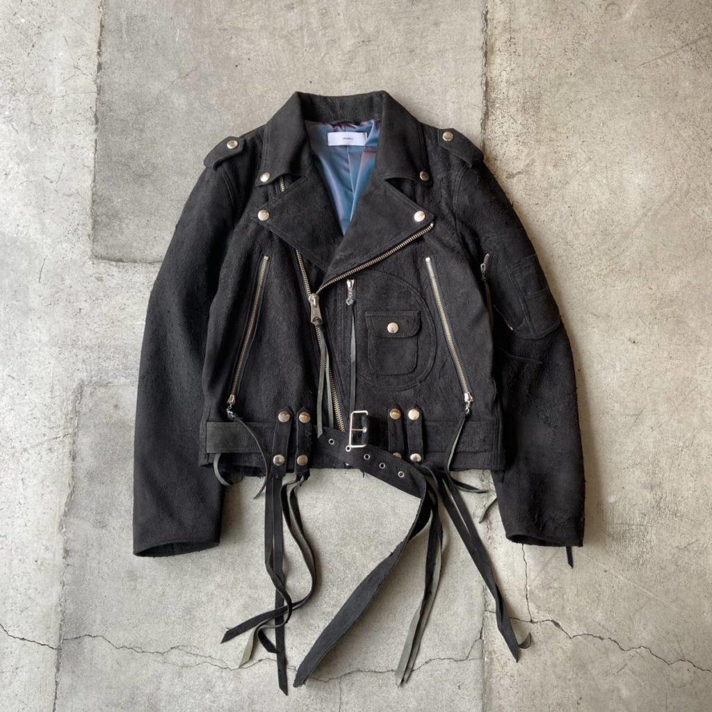 漢を上げるライダースジャケット。SUGARHILL