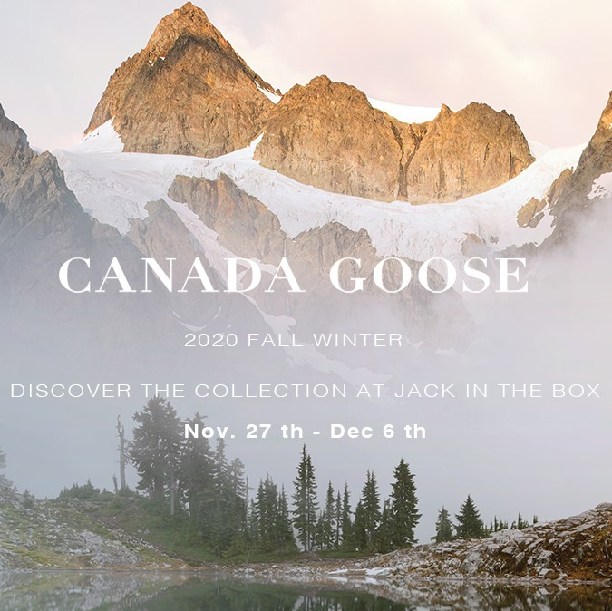 CANADA GOOSE POPUP-STORE 11 月 27 日(金)START!!!