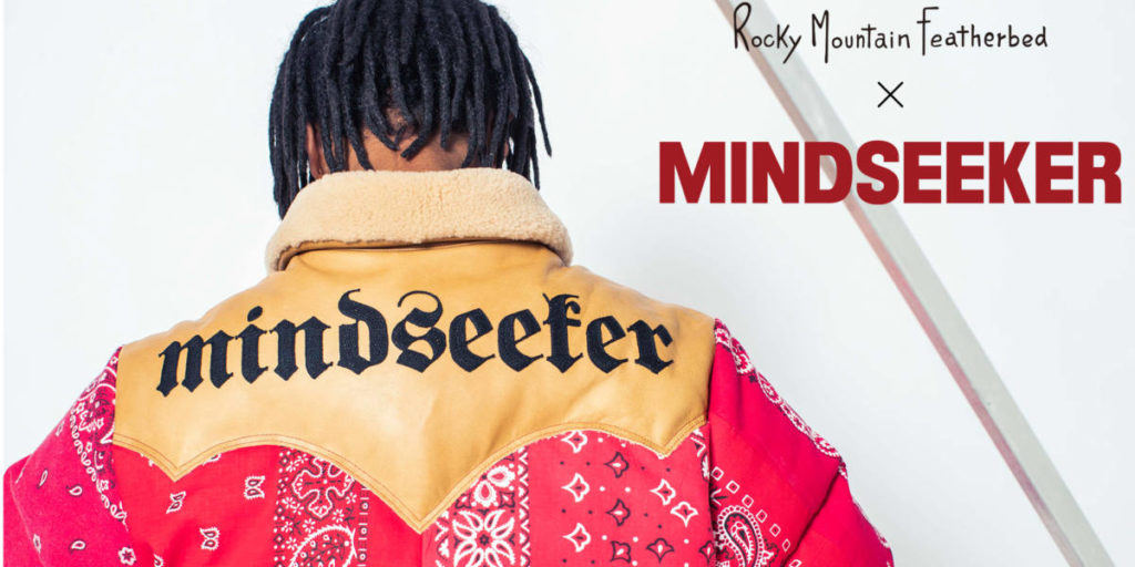 mindseeker×Rocky Mountain Featherbedの一点物プロダクト