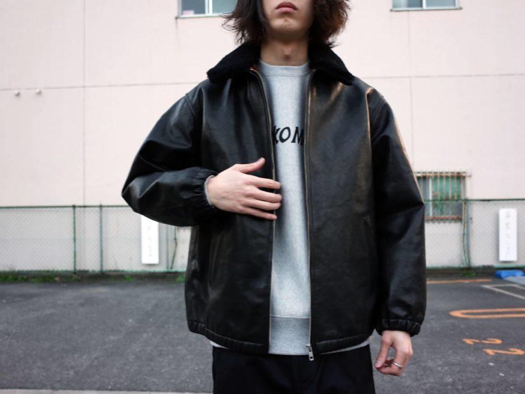 漢の永遠の憧れ。WACKO MARIA のレザージャケット