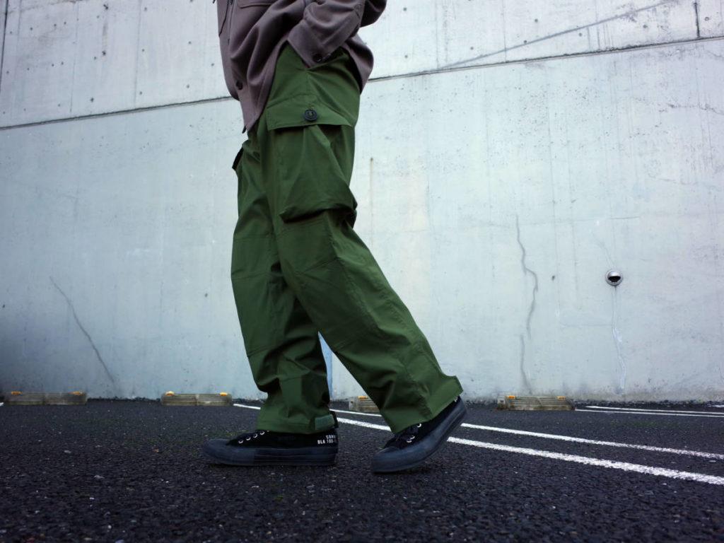 百点満点のミリタリーパンツ。N.HOOLYWOOD × karimmor