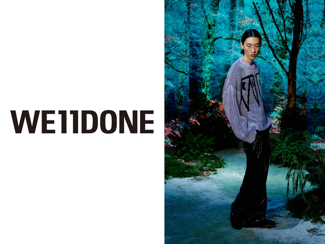 WE11DONE(ウェルダン)2021 SPRING & SUMMER COLLECTION LOOK