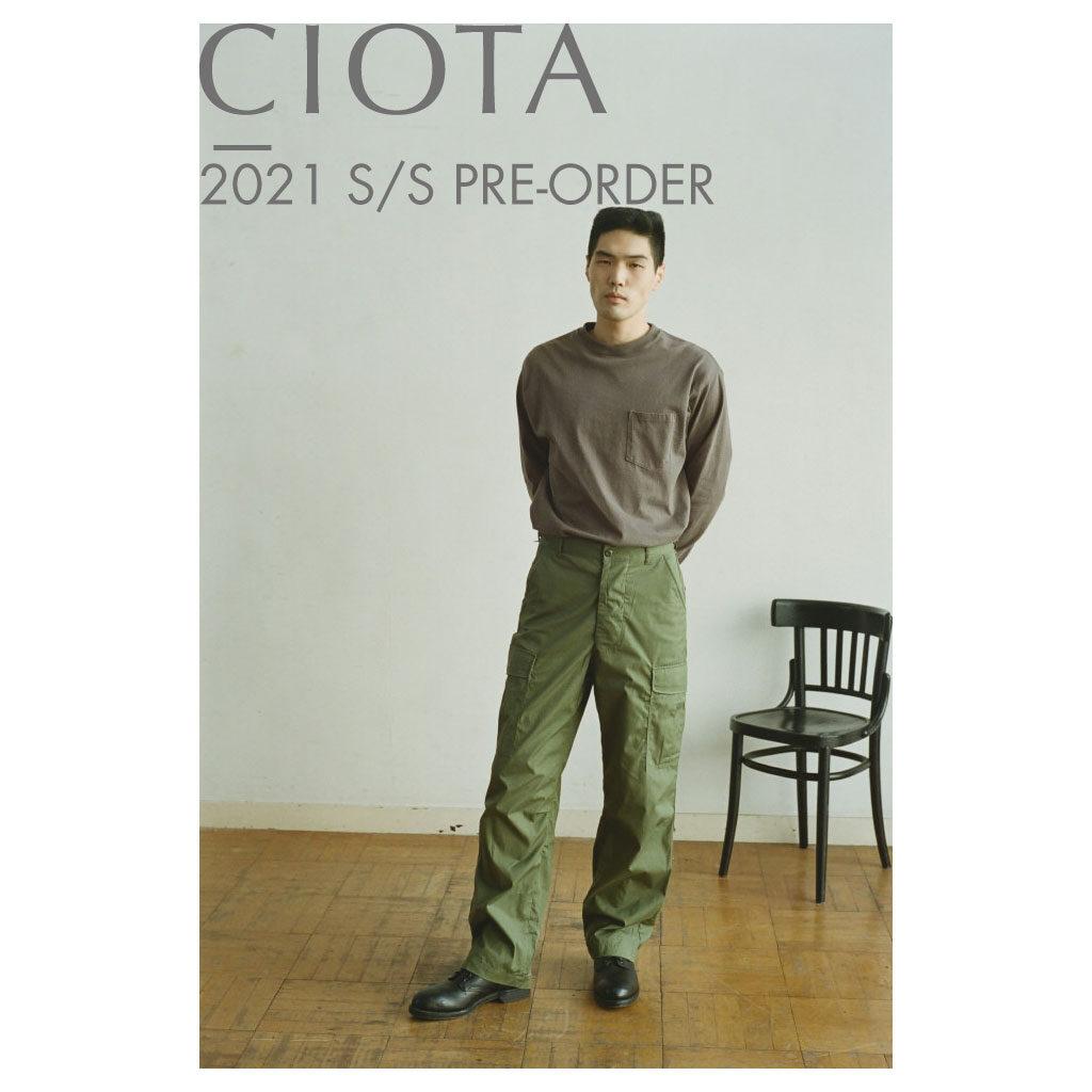 CIOTA (シオタ)オンライン予約販売のお知らせ。