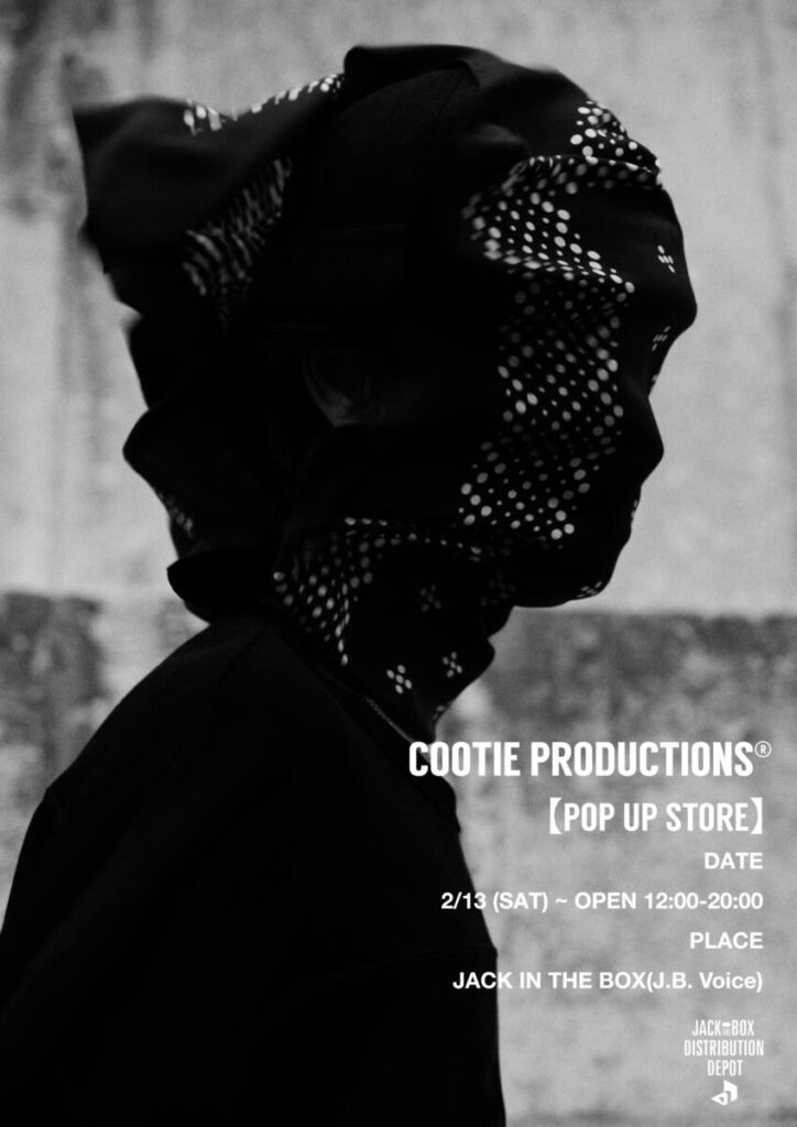 "COOTIE PRODUCTIONS® POP-UP STORE & ""Fidelified"" Exhibition OPEN!"