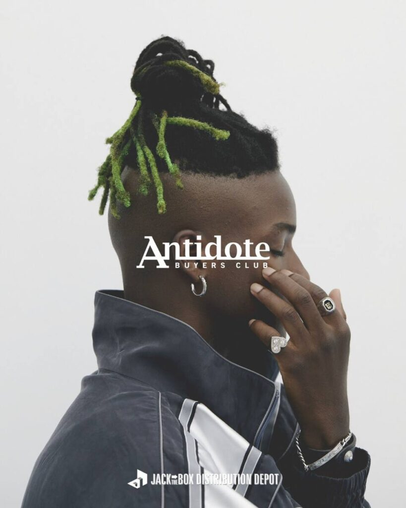 ANTIDOTE BUYERS CLUB Special order reception at JACK IN THE BOX 3 月 20 日 より開催!