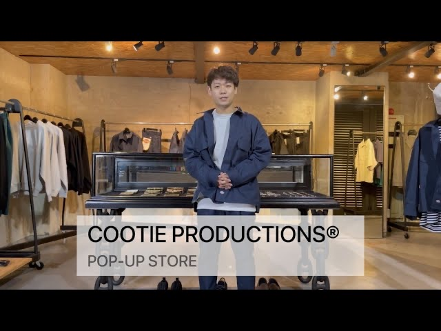 COOTIE PRODUCTIONS®︎ (クーティープロダクションズ )のポップアップストア開催!