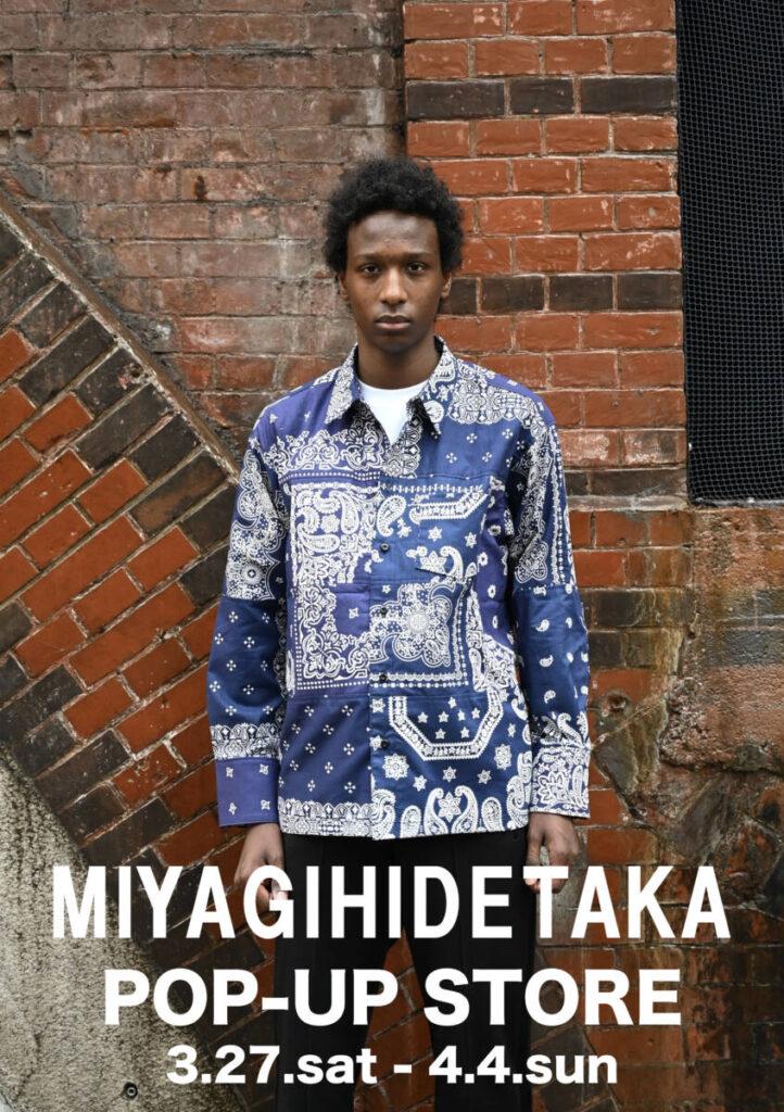 MIYAGIHIDETAKA(ミヤギヒデタカ) REGGAWSで初のPOP-UP STOREを開催