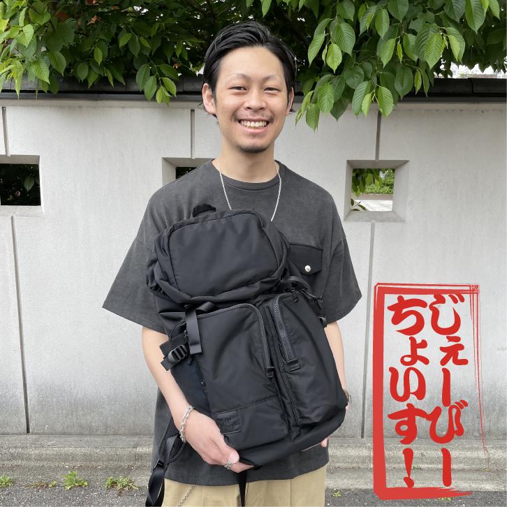 【J.B.Choice】やっぱり黒!安定感のある黒のバックパック