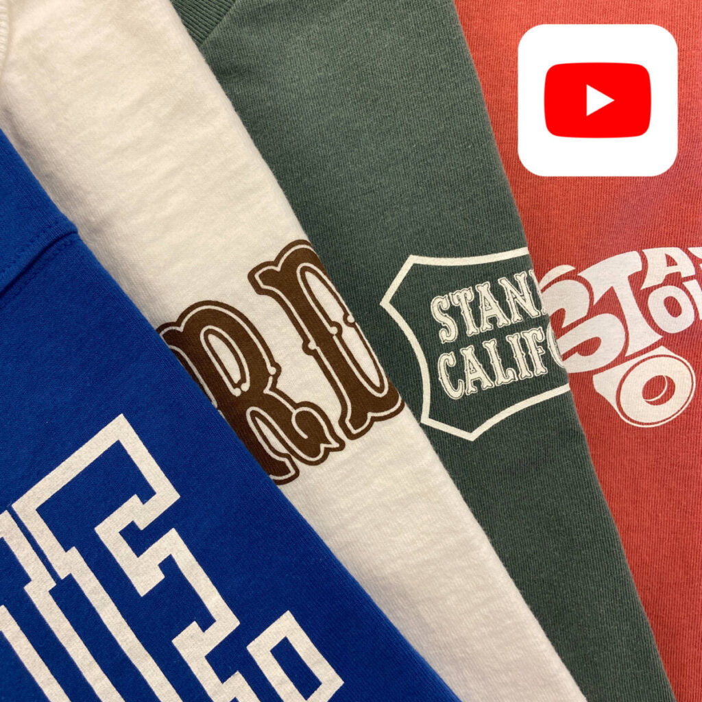 【YouTube】STANDARD CALIFORNIA Tシャツを一挙ご紹介!