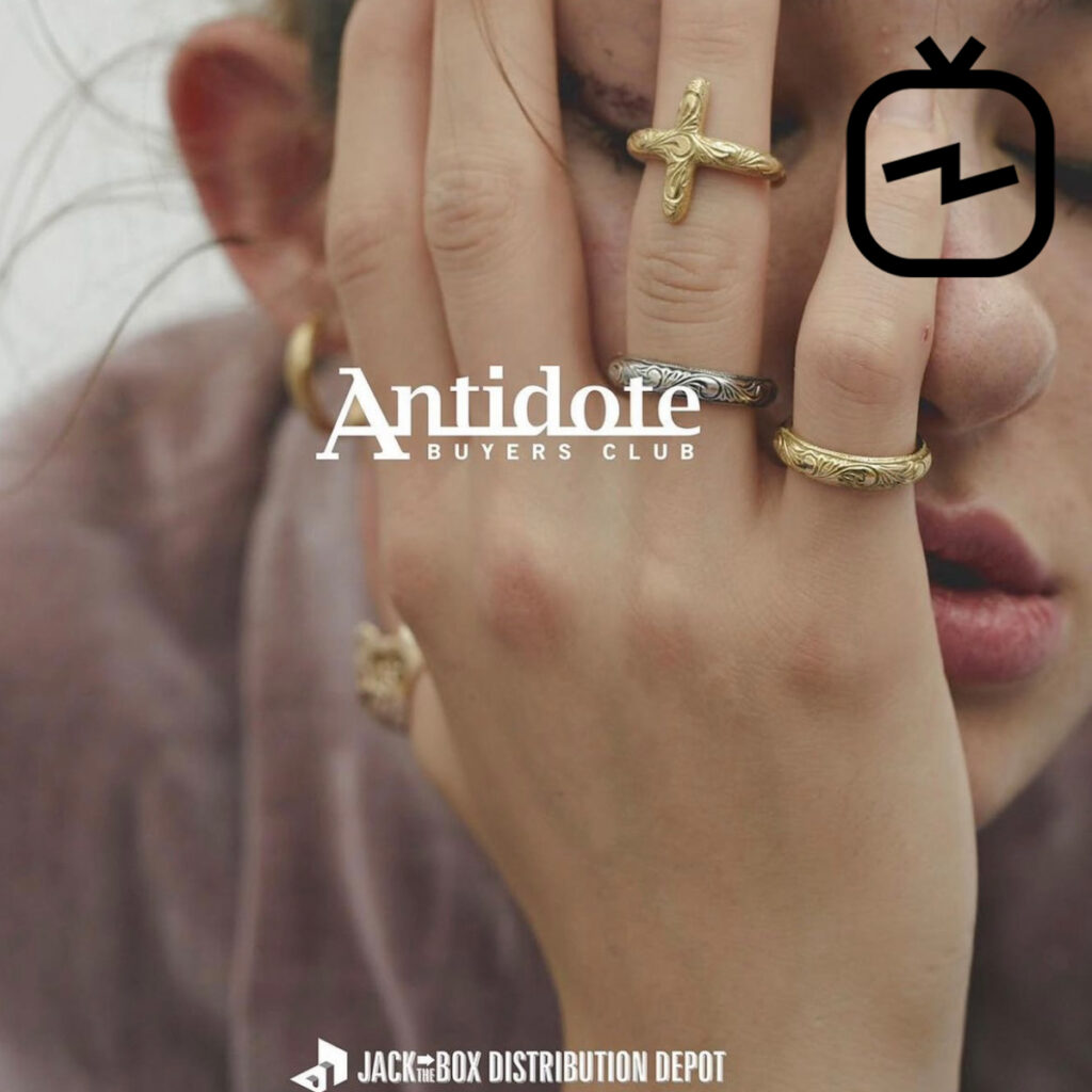 【IGTV】Antidote BUYERS CLUB Special order reception JACK IN THE BOX インスタライブ