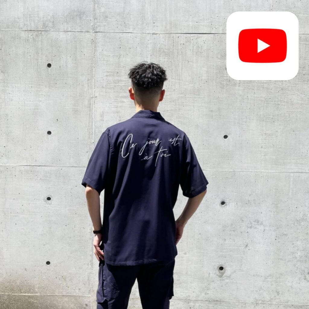 【YouTube】オススメの半袖シャツ 5 選!!