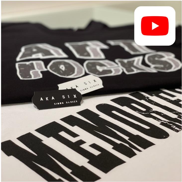 【YouTube】AKA SIX 新作Tシャツ、シャツのご紹介。