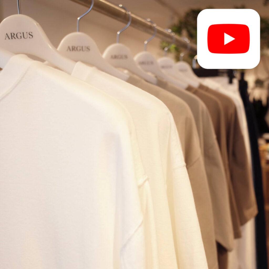 【YouTube】CIOTA 夏の逸品。2 種類の T シャツのサイズ感やデザインを比較。