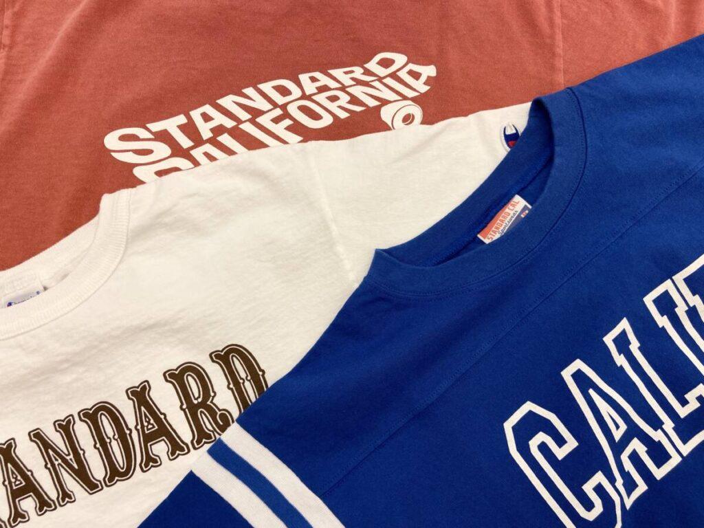 Tシャツのサイズ感や素材感を比較!STANDARD CALIFORNIA(スタンダードカリフォルニア)