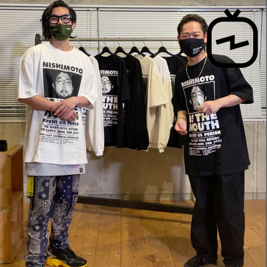 【IGTV】NISHIMOTO IS THE MOUSE,TOM WOOD,Graphpaper,AKA SIX 紹介 6/18(金)