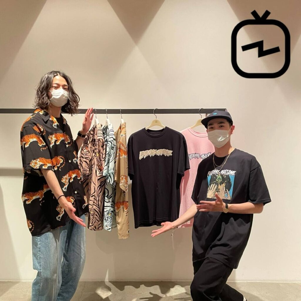 【IGTV】WACKO MARIA , FUCKING AWESOME 新作紹介 6 / 25(金)