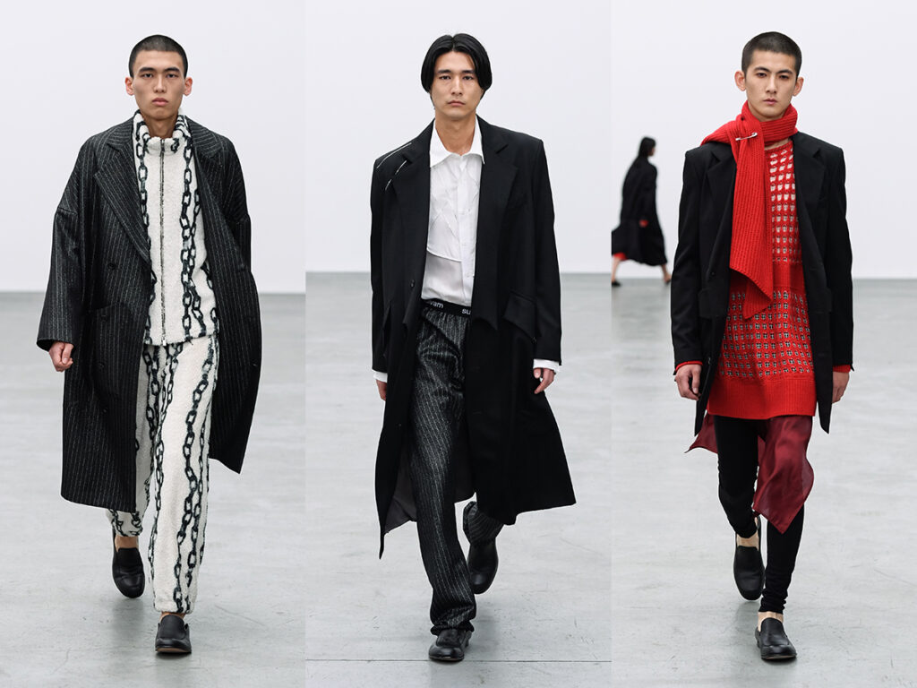 sulvam 21AW COLLECTION LOOK