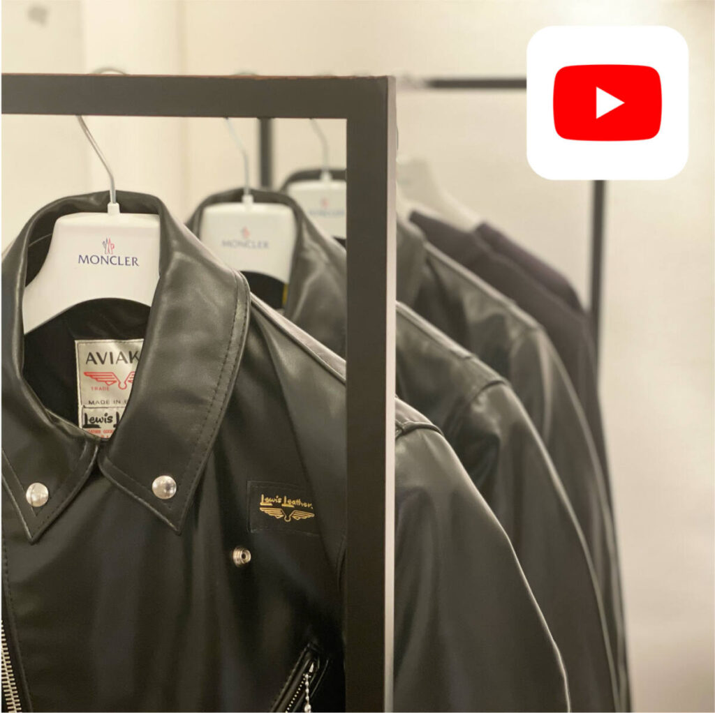 【YouTube】MONCLER FRGMT ×Lewis Lethers 最新コラボレーションアイテム紹介