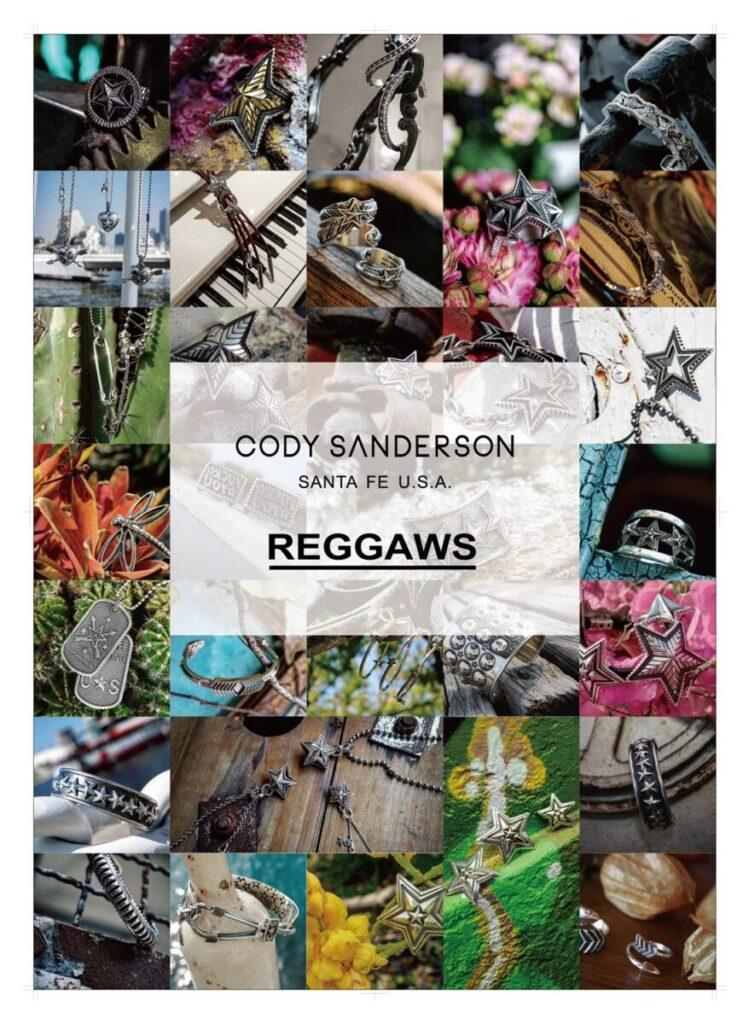 CODY SANDERSON POP UP STORE at REGGAWS