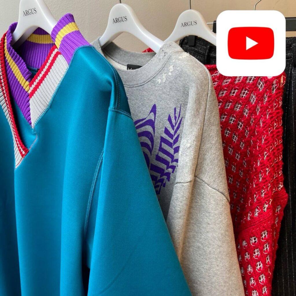【YouTube】kolor と sulvam 新作を早速着てみました。