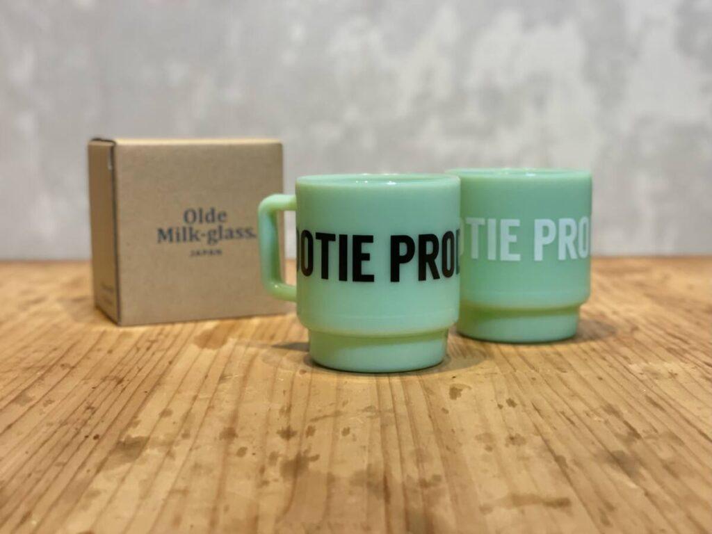 アメリカで大流行だったミルクガラスを日本製で。COOTIE PRODUCTIONS® × Olde Milk Glass