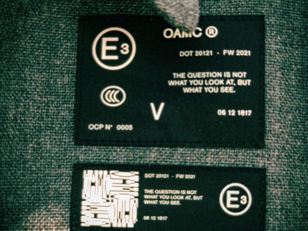 シンプルなデザインの中にある上品さと遊び心。OAMC 21AWコレクションスタート。