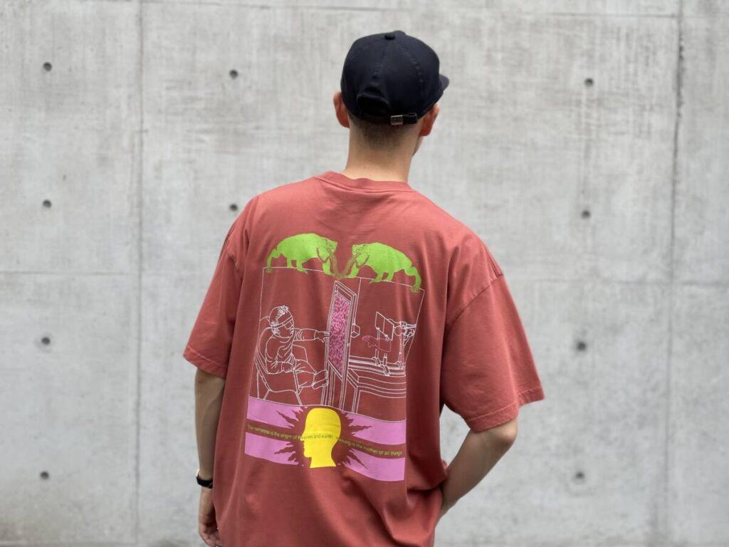 BRAIN DEAD から夏を彩る T シャツが入荷。