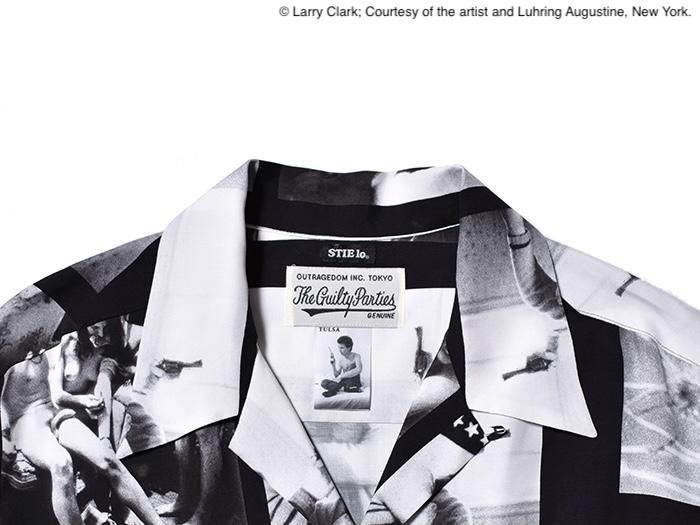 Larry Clark × WACKO MARIA × Stylist 野口強氏 の主宰する Stie-lo によるトリプルコラボレーションが 7 月 10 日(土)発売。